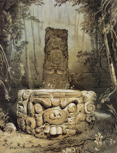 Lámina 5: Idol and Altar, Copan