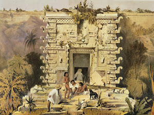 Lámina 11: Gateway, Great Teocallis, Uxmal