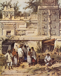 Lámina 15: La Casa de las Monjas, Uxmal