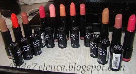 Review Swatch Nyx Round Lipsticks Anda Zelenca Blog