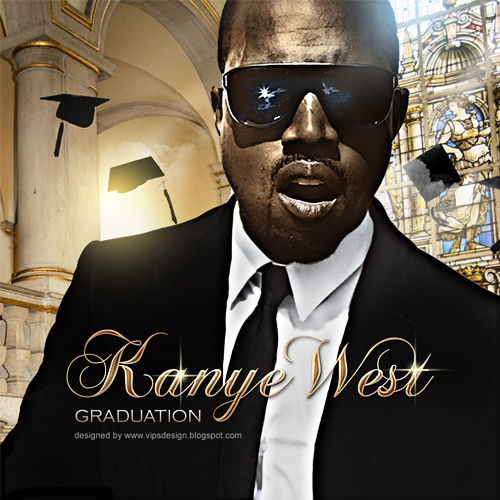 kanye west graduation album cover art. kanye west graduation album