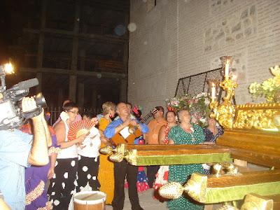 Ofrenda floral del coro a la patrona de atarfe santa ana - Santa ana atarfe ...