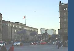 Plaza del Zócalo en el DF