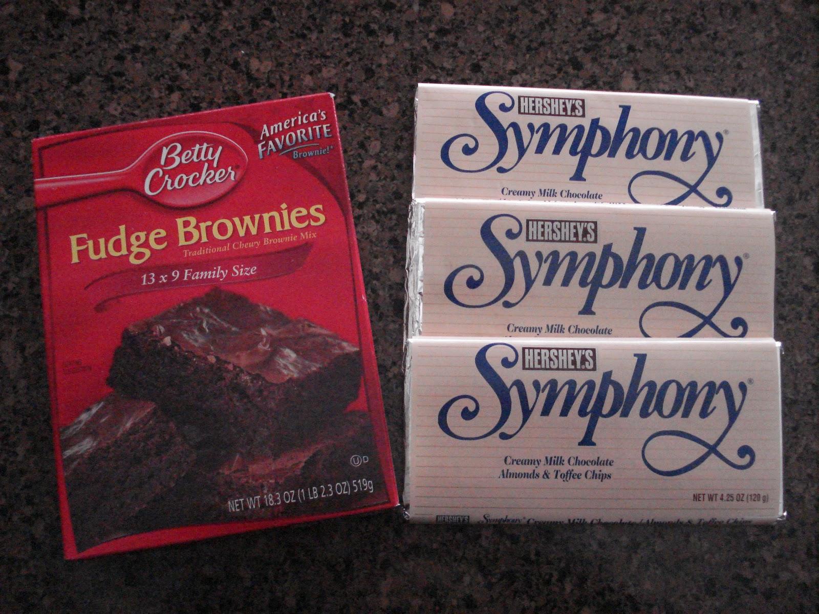 Karen S Ideas Galore Candy Bar Brownies
