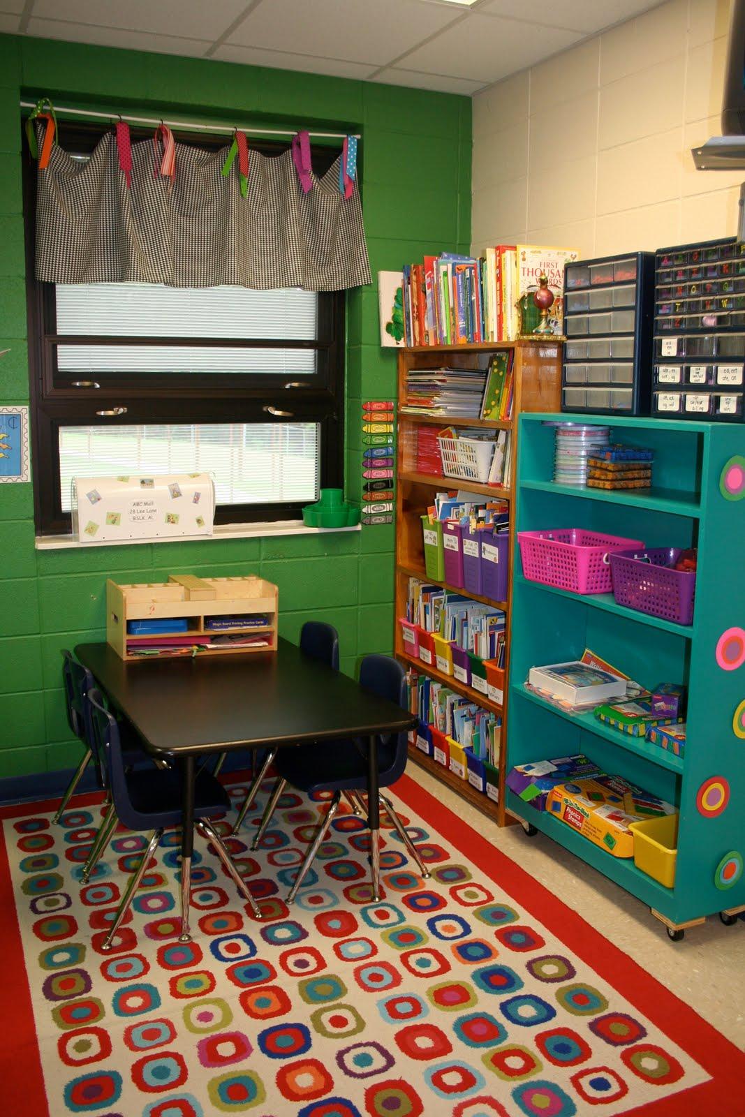 Kindergarten Class: Mrs. Lee's Kindergarten: My Classroom