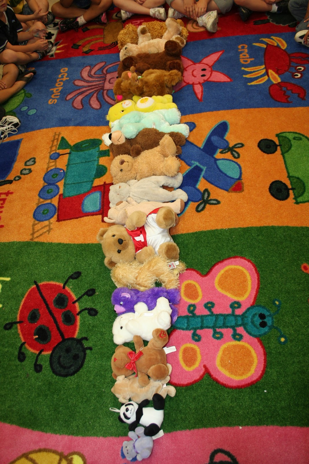 Kinder Garden: Mrs. Lee's Kindergarten: T Is For Teddy Bear