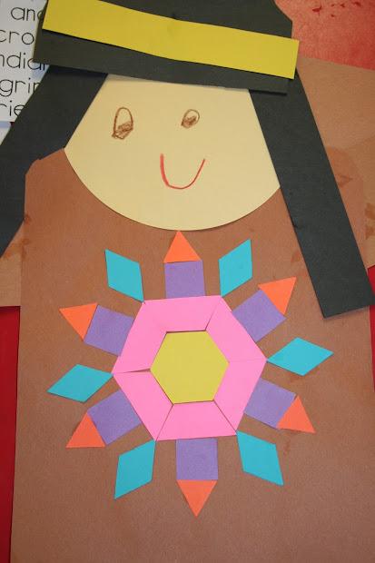 Lee' Kindergarten Symmetry Indians
