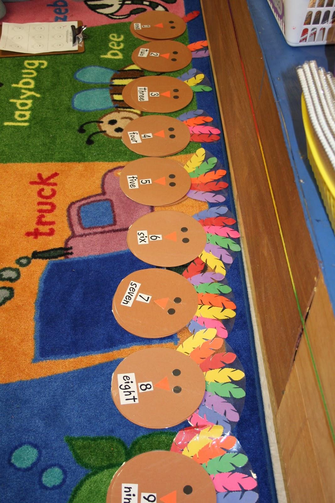 Mrs Lee S Kindergarten Turkey Games