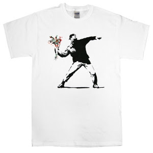 Camisetas Bansky - Serie 1