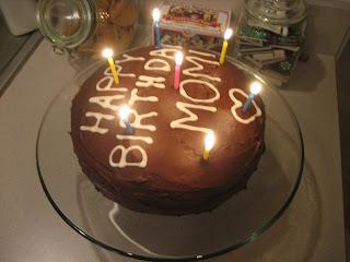 Inkpadchocolate Chocolate Birthday Cake Frosting
