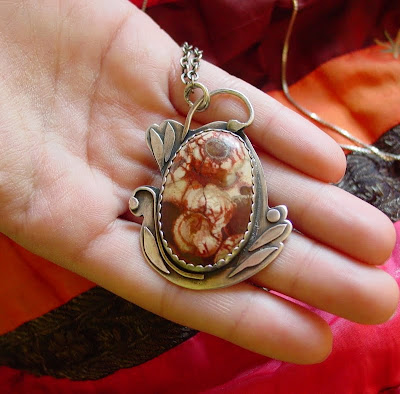roses_cabochon_jewelry_pendant_sterling_rose