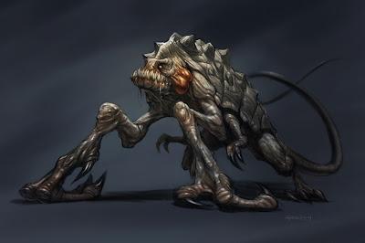 Concept Art Giant Monster Art