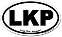 Lake Pine Apex Sticker