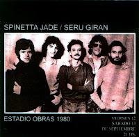 Spinetta Jade y Serú Giran juntos en vivo