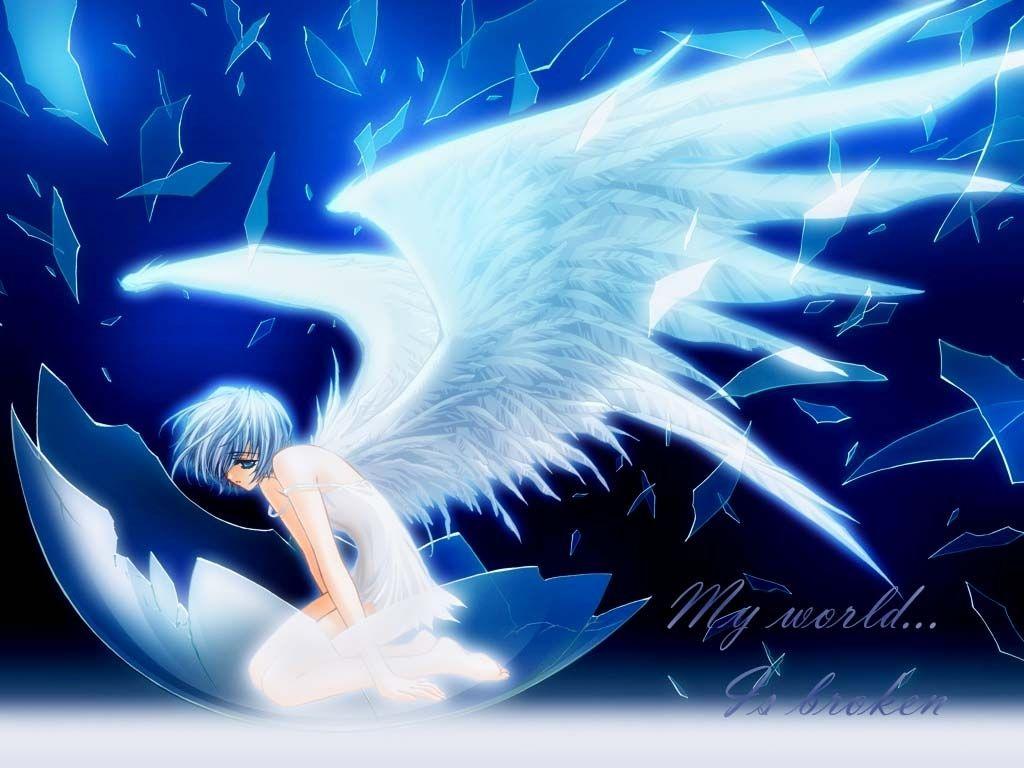 Sweet wallpapers fallen angels - Anime wallpaper angel ...