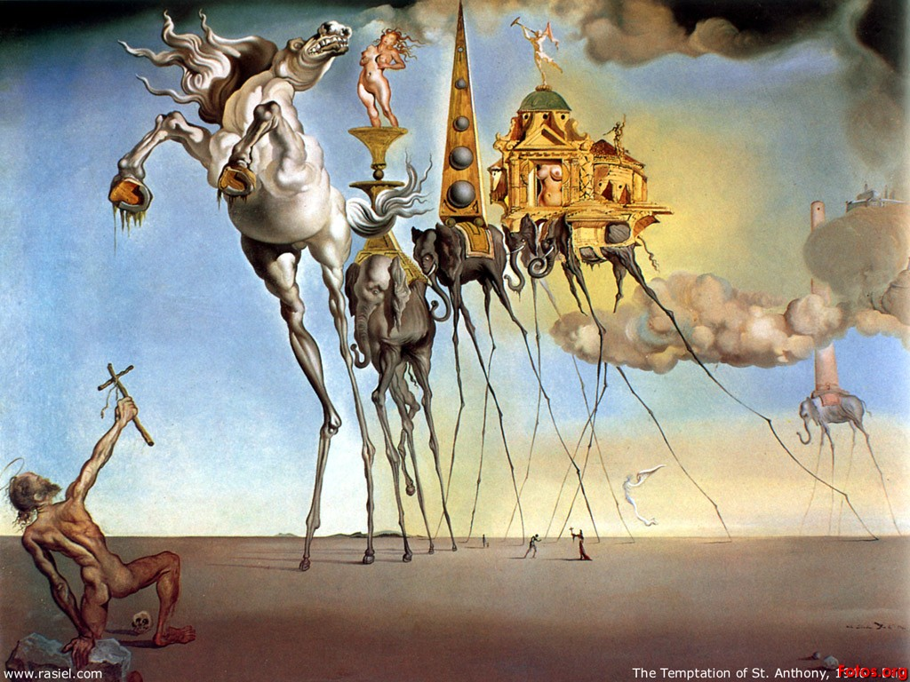 Dali's 'Battle of Tetuan' Seldom Seen but Makes Gigantic Impression!