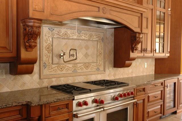 kitchen stone backsplash pictures. Black Bedroom Furniture Sets. Home Design Ideas