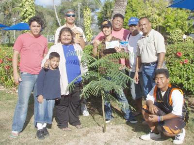 Jake Shimabukuro Tree Planting