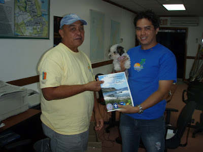 Angelo Villagomez and Ike Cabrera