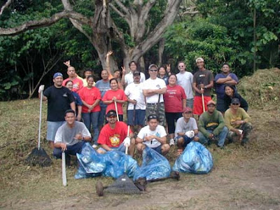 Laulau Beach Cleanup