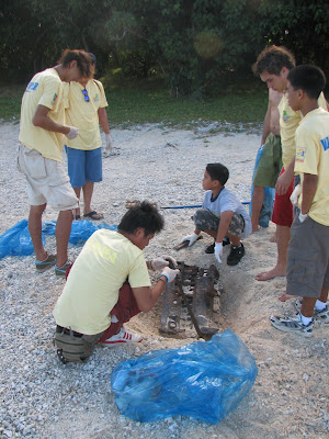 Beautify CNMI WIng Beach