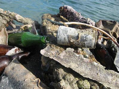 Underwater Garbage Saipan