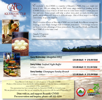 Aqua Resort Promotion