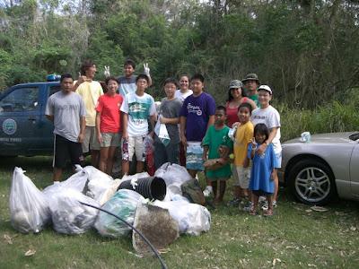 DEQ Bird Island Cleanup