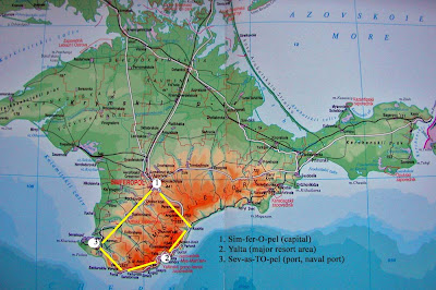 Political Map of Crimea - Nations Online Project