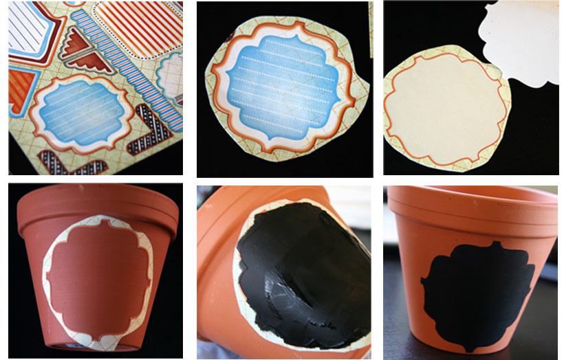 tchoubi petites histoires cr atives d co pot en terre cuite partie 1. Black Bedroom Furniture Sets. Home Design Ideas