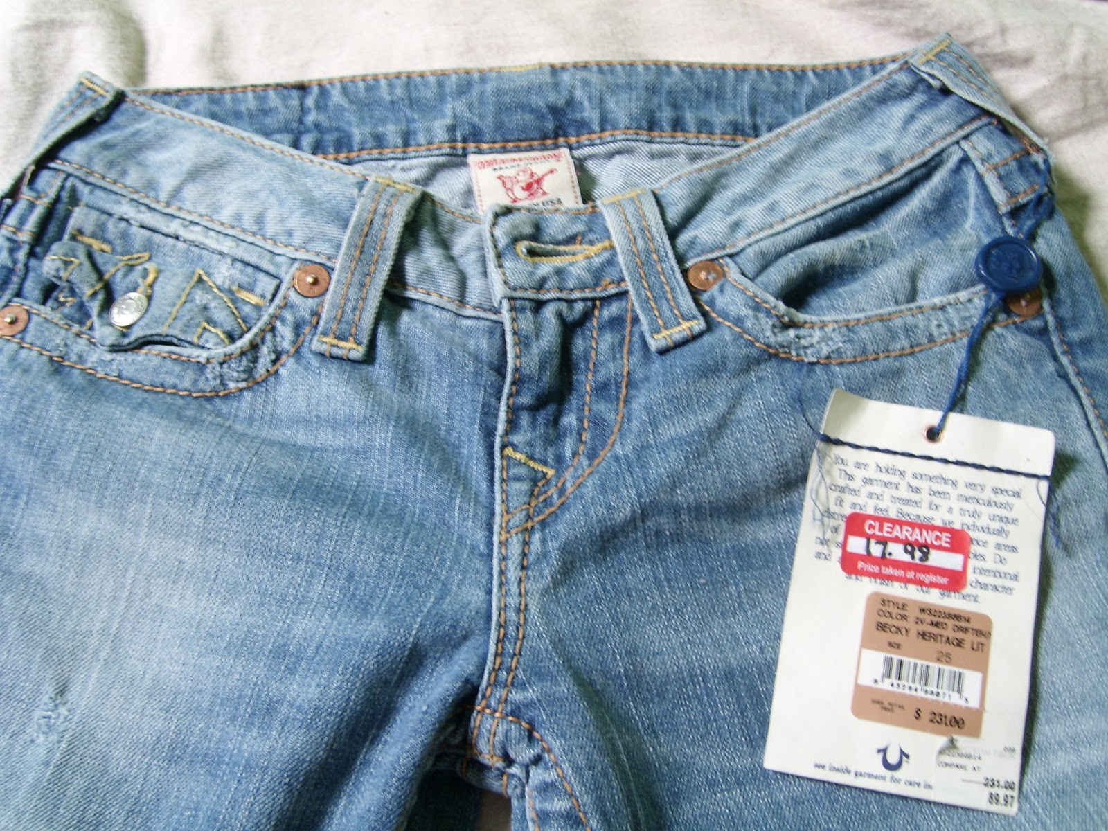 Local Nordstrom Rack Clearance Section And See What Great Deals You Can Snag For Yourself Always Try On Your Jeans Because I Wear Both Sz 25