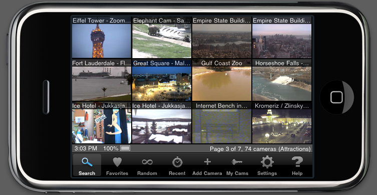 Live Cams Pro by Eggman Technologies: iOS apps