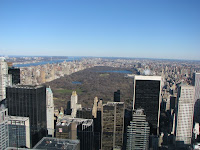 Central Park desde el Top of the Rock