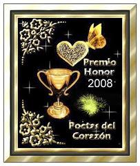 Gracias Rox por este premio!!