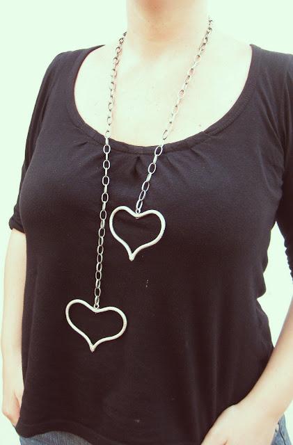 Collar Corazón de Melón