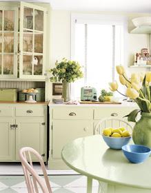 Mrs Peeks Farmhouse: Country Living Kitchens