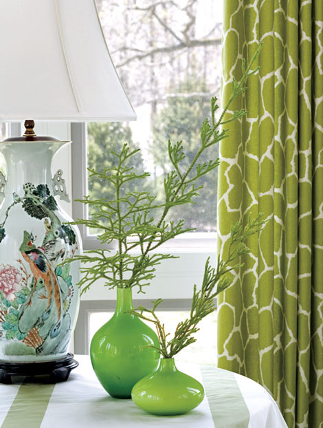 VT Interiors - Liry of Inspirational Images: MORE GREEN FUN on