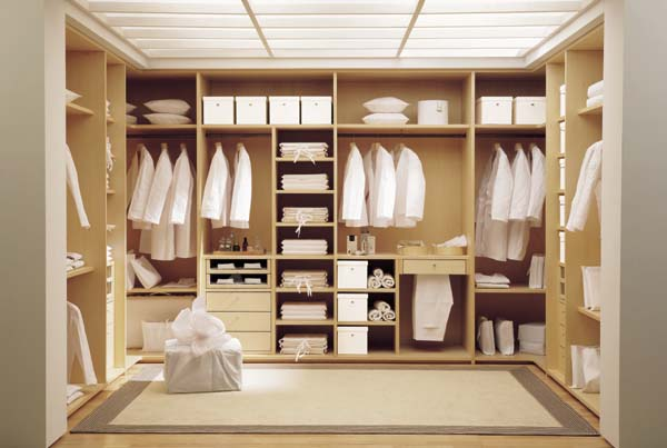 Amazingly cozy wardrobe dresser and closet design for your for His and hers wardrobe
