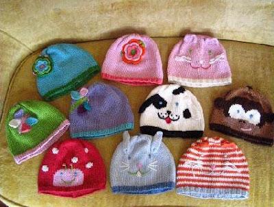 Bebek şapka ve patik örnekleri