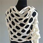 0906 knit gorgonian shawl