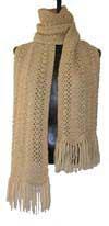 beige scarf 100
