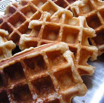 Gourmet or Gourmand: Liege Sugared Belgian Waffles