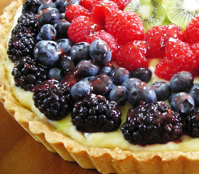 Gourmet or Gourmand: French Fruit Tart with Vanilla Pastry Cream