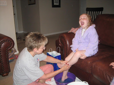 feet were just a little ticklish sofi managed to tickle my feet with