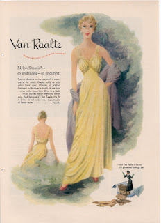 VAN RAALTE LINGERIE & MORE :  blog about vintage clothes myth