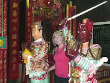 Di with Temple Gods