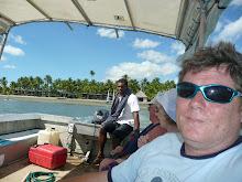On the boat to Akelua - little Fiji