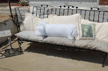 Wrought Iron Patio Sofa Asheville Furniture - Thesofa