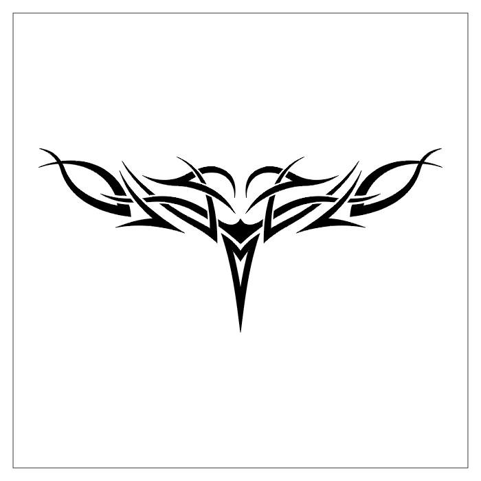 linafceove: tribal tattoos for men back