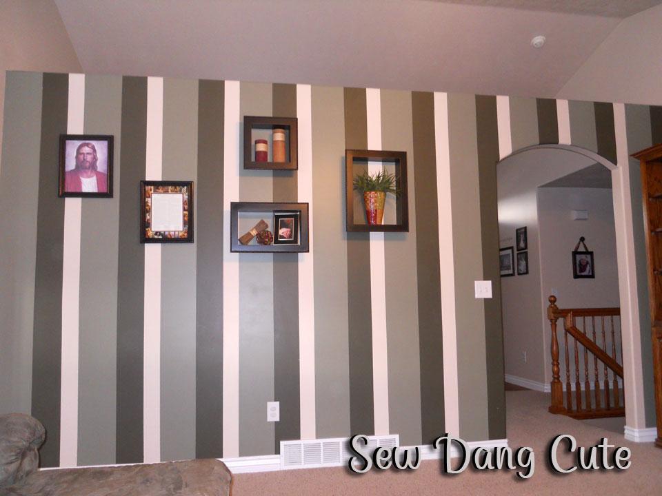 Wall Painting Ideas Stripes | Joy Studio Design Gallery ...